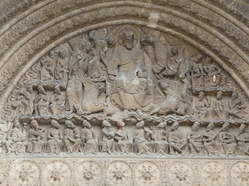 Le tympan du portail de Saint Pierre de Moissac