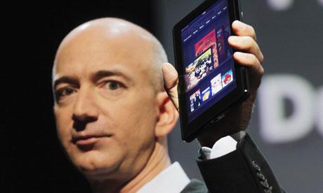 Jeff Bezos présente le Kindle Fire