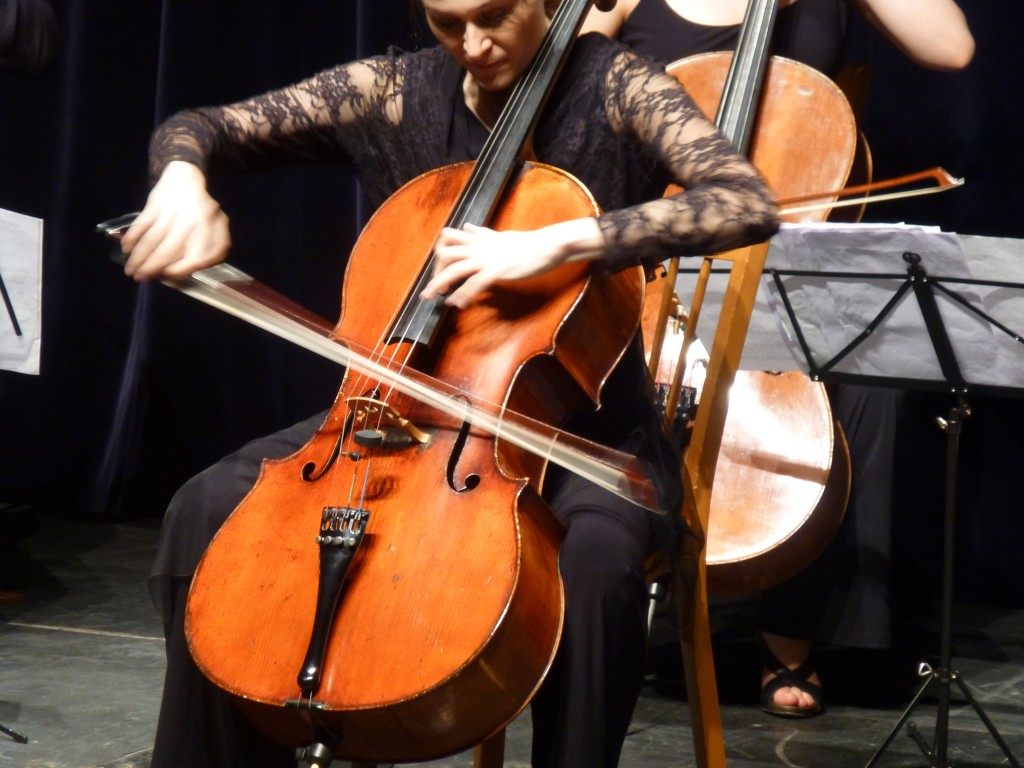 L'Orchestre de Violoncelles. Photo Martine Grenier