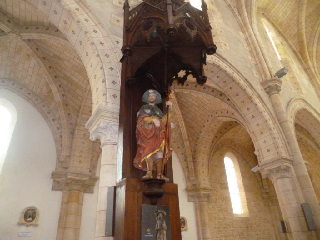 l'église Saint Martin de Carcans, sur le chemin de Saint Jacques