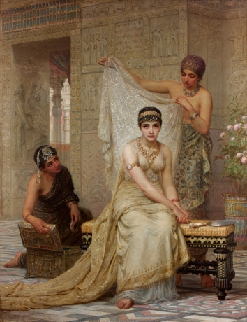Edwin L. Long, La Reine Esther, 1878