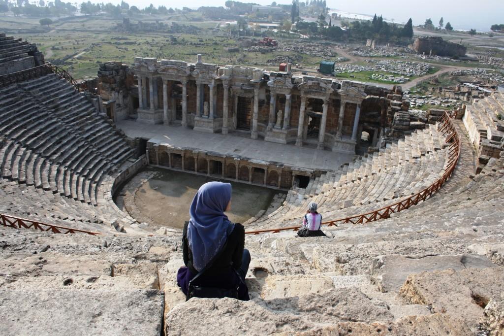 Théâtre romain de Hierapolis