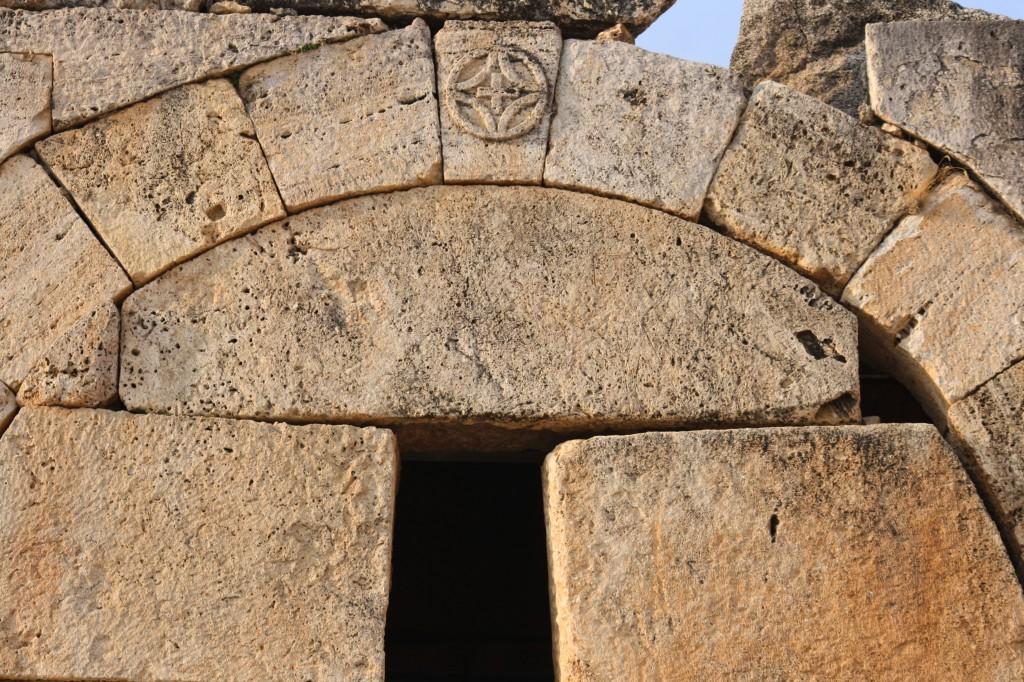 Porte byzantine à Hierapolis