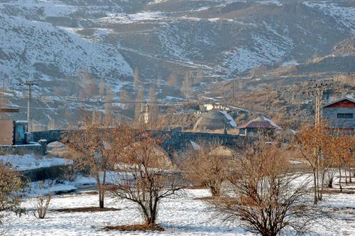 Vue de Kars en hiver. source : Google Earth