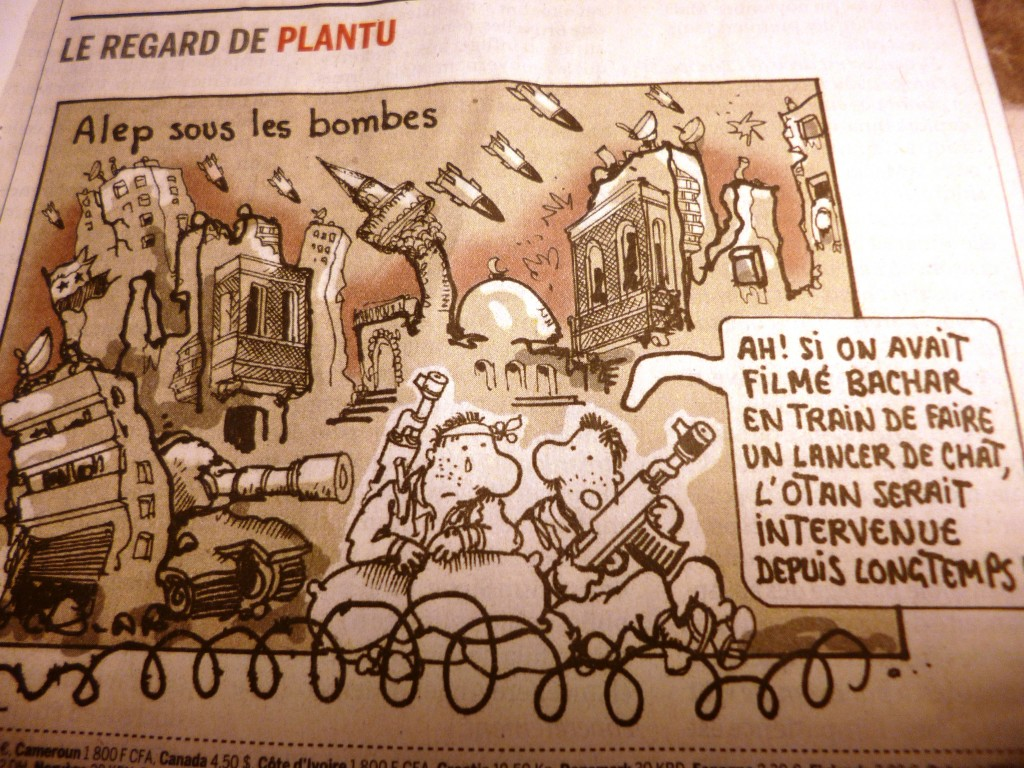 Dessin de Plantu dans Le Monde du 5 février 2014