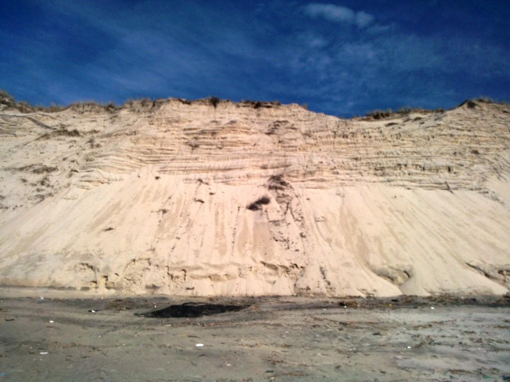 Dune à Carcans Plage (Gironde) le 6 avril 2014