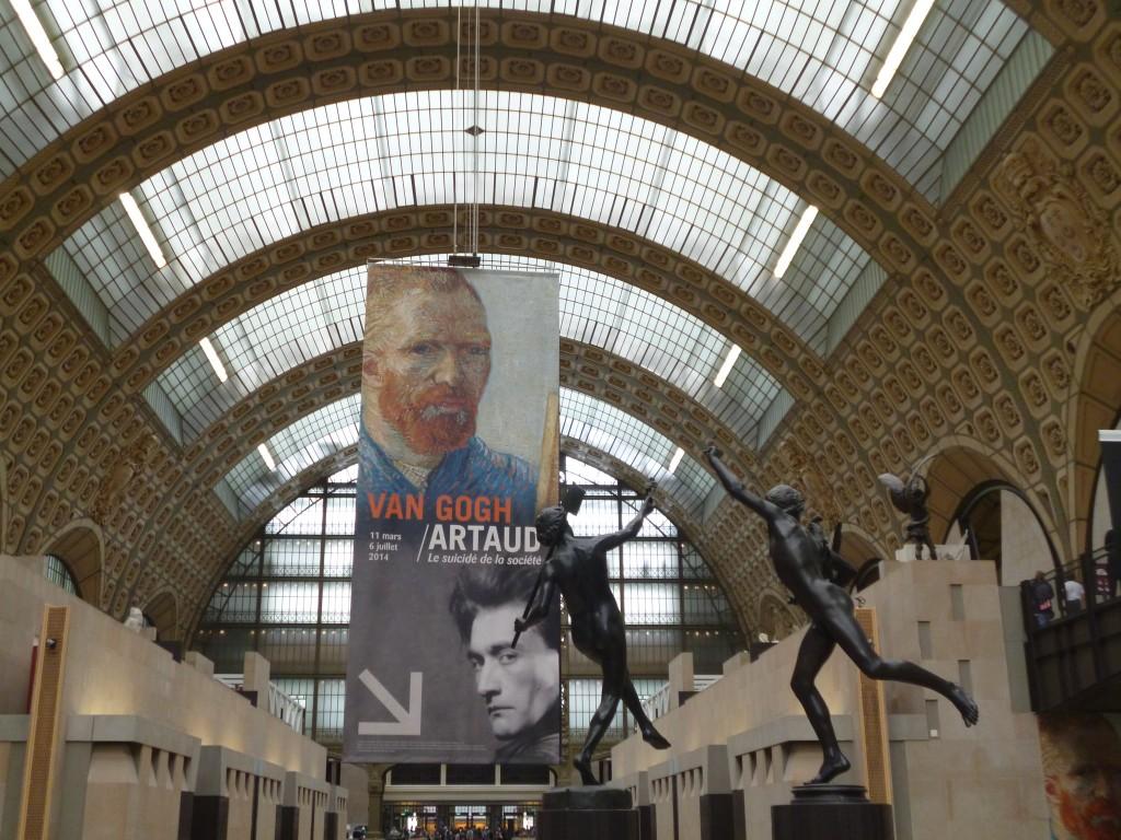 Dans la nef du Musée d'Orsay