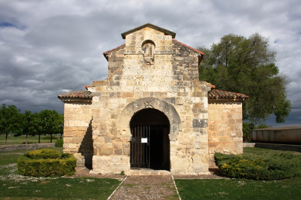 La basilique Saint Jean-Baptiste de Banos de Cerrato