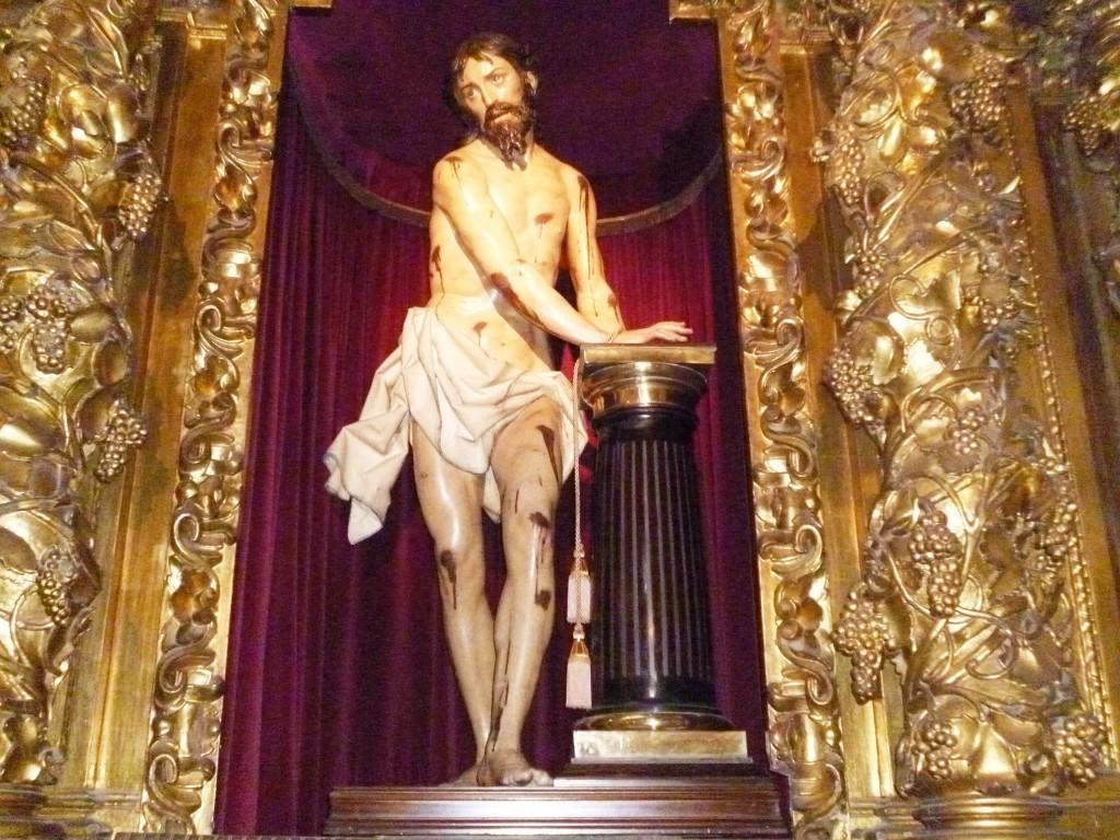 Flagellation du Christ, dans l'église San Pablo de Valladolid