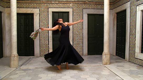 La danseuse Amira Chebli