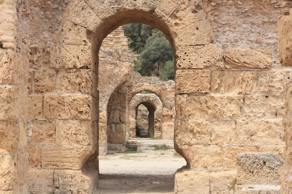 Ruines romaines à Carthage