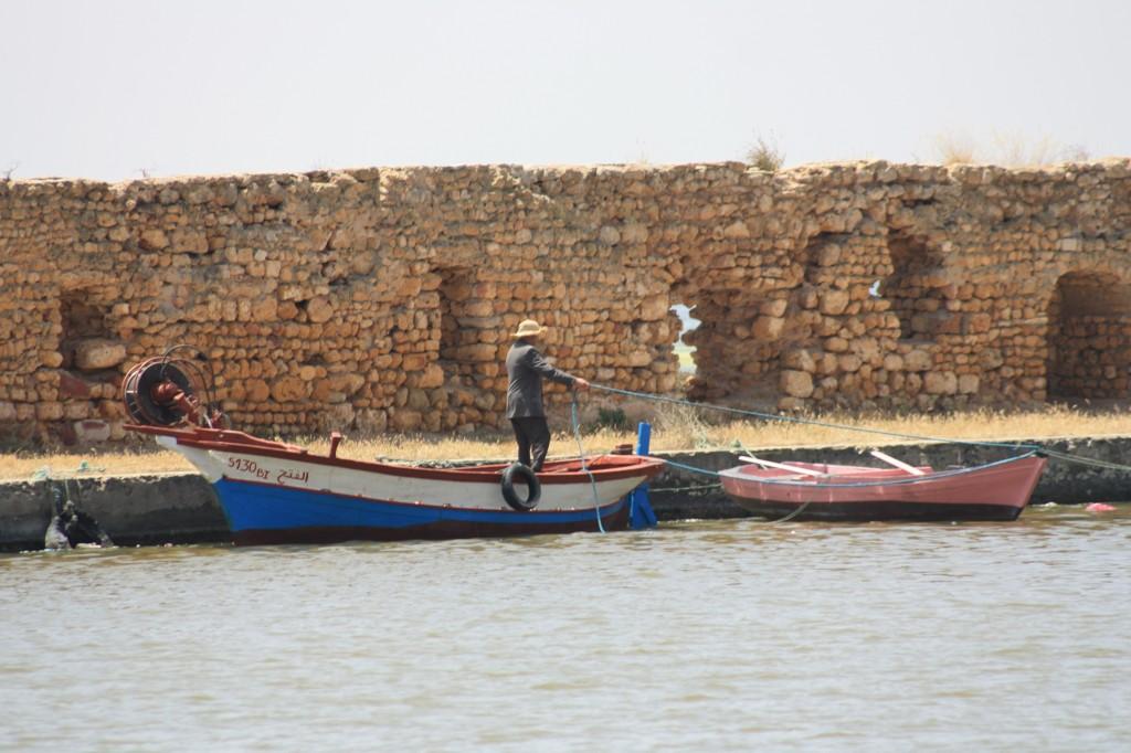 Le vieux port de Ghar El Mehl