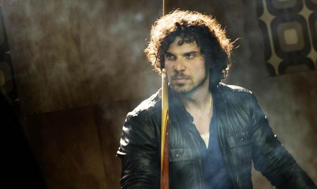 """Francesco Montanari dans le rôle du Libanais dans la série télévisée """"Romanzo Criminale"""""""