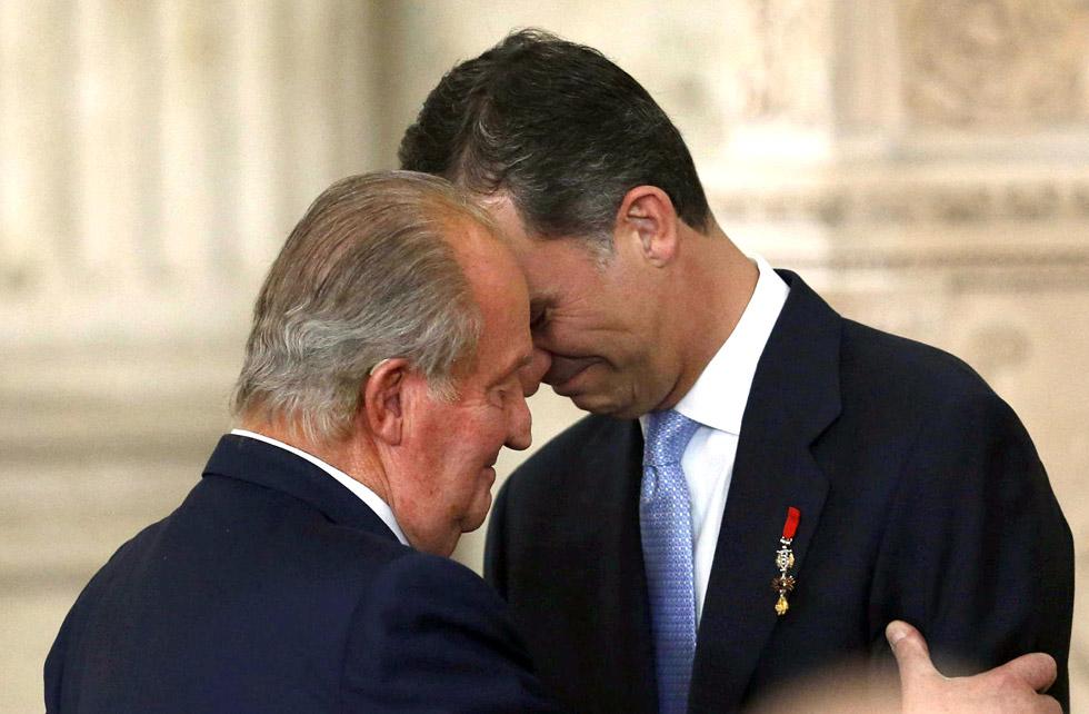 Juan Carlos abdique en faveur de son fils Felipe