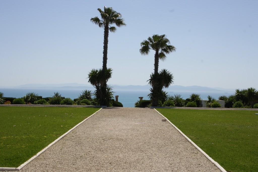 Le site du cimetière militaire français de Gammarth