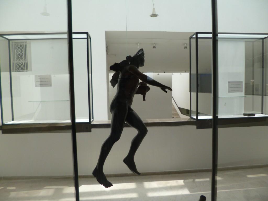 Au musée du Bardo, à Tunis
