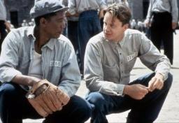 Morgan Freeman et Tim Robbins