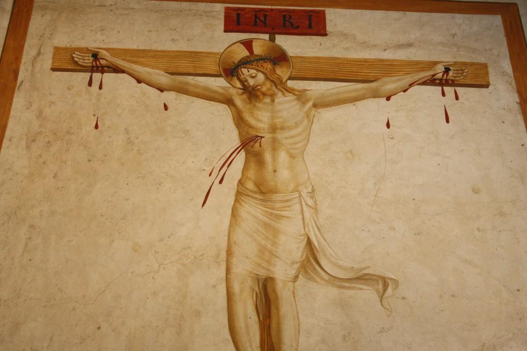 Fresque de Fra Angelico au Musée San Marco de Florence