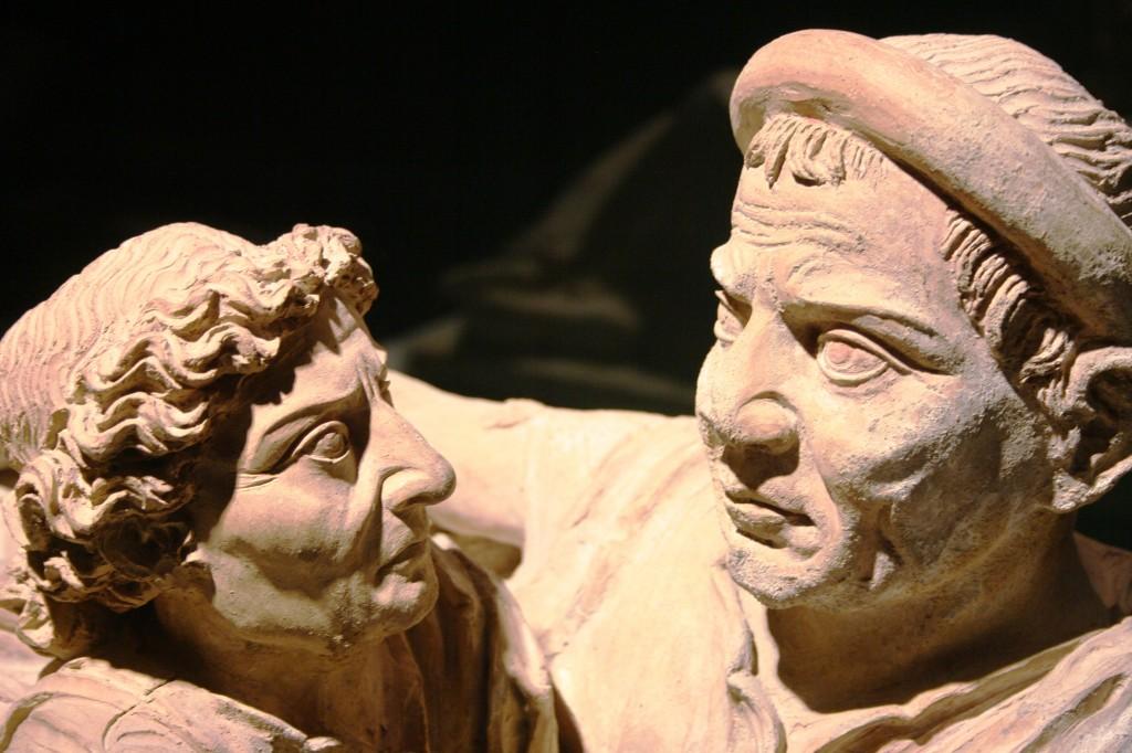 Monument funéraire, musée étrusque de Volterra