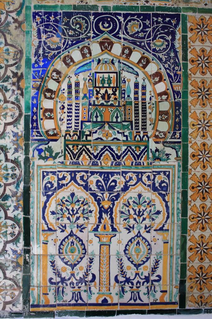 Mosaïque à Kairouan