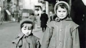 Catherine Millet enfant avec son frère Philippe