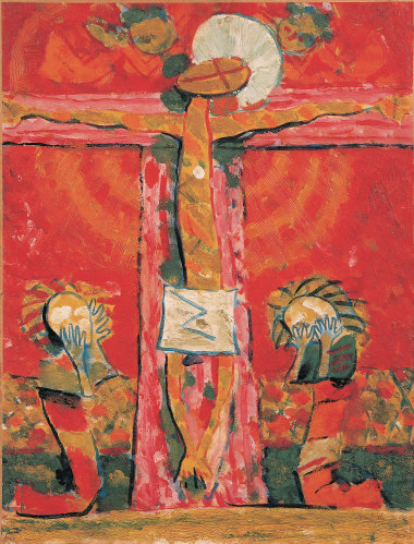 Roger Bissière, Crucifixion (1937)