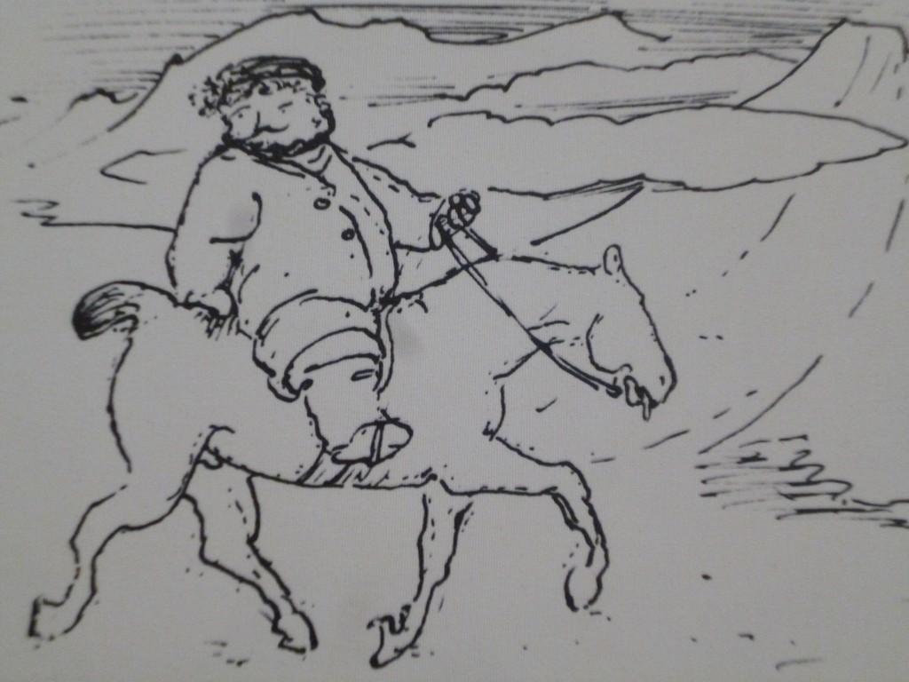 William Morris à cheval en Islande