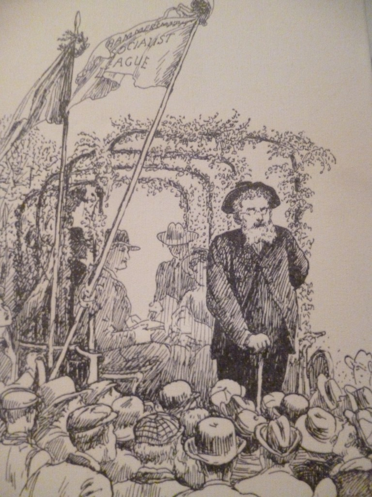 William Morris, tribun socialiste à la fin de sa vie