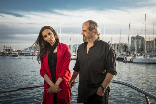 Wiam Simav Bedirxan et Ossama Mohammed à Cannes