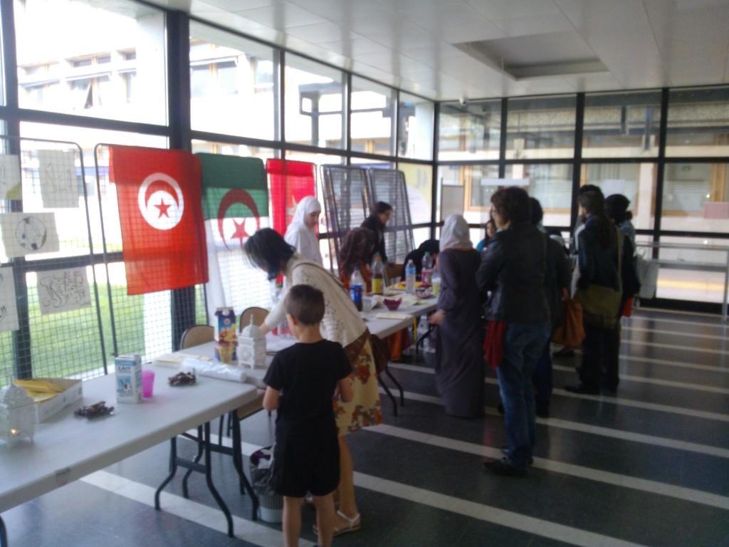 Exposition calligraphie à l'Université Bordeaux Montaigne