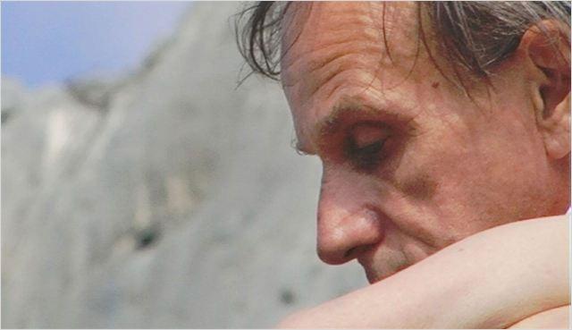 """Michel Houellebecq dans le film """"Near death experience"""""""