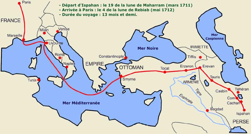 Le voyage d'Usbek et Rica, site-magister.com