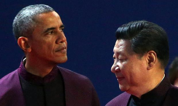 Barak Obama et Xi JinPing