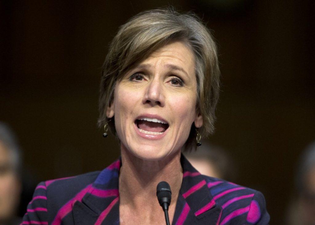 Sally Yates, Deputy Attorney General