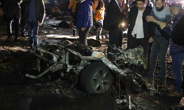 Attentat du PKK à Ankara