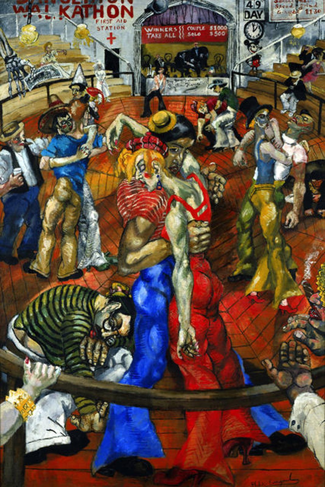 La Peinture Americaine Des Annees 1930 Transhumances